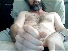 Australian Str8 Daddy with Dreadlocks cums on cam #47