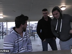 Men.com - Ashton McKay and Aspen - Dad Group Part 2