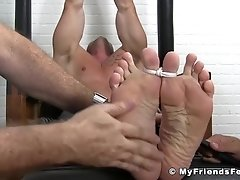 Muscular stud Joey J breaks down from rough tickling|38::HD,63::Gay,1921::Bondage,1991::Feet,2001::Fetish,2011::Group