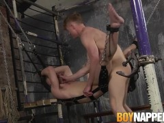 Horny twink Tyler delivers a rough and hard anal banging|38::HD,63::Gay,1921::Bondage,2021::Hairy,2151::Uncut