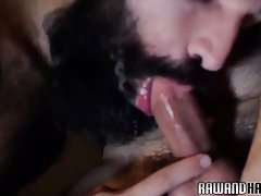Bearded wolf slamming tight asshole