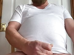 See my hard dick and my Jerk off and cum Show