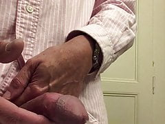 Cumshot on desi girl