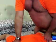 'BREEDMERAW Naughty Prisoner Hammered By Tyler Reed After BJ'