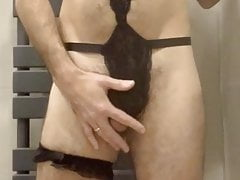 Stripping in sexy underwear 4