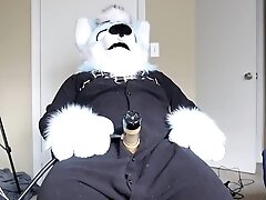 'Fursuit Cock Milking with the Venus Milking Machine'