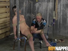 Hot twink Ashton Bradley dominates over Mason Madisons cock|38::HD,63::Gay,1911::Blowjob,1921::Bondage,2151::Uncut
