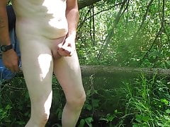 Naked and Pissing Outdoors