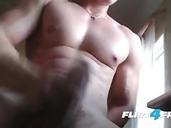 Flirt4Free - Harry Flirt - Hunk Strips Down Revealing Muscles and Big Cock|38::HD,63::Gay,2021::Hairy,2041::Hunks,2081::Muscular,2121::Solo Male,2151: