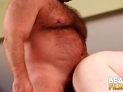 'BEARFILMS Cub Jon Thomas Blows Big Daddy Before Doggystyle'