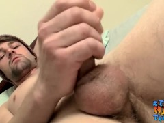 Bearded straight jock tugging and wanking his big dick solo|38::HD,63::Gay,2121::Solo Male,2131::Straight