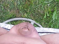 Outdoor Piss On Me 1