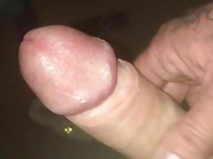Wanking in front of wife