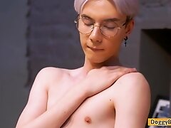 Sweet Teen Boy Karol Gadja Expose His Tight Boy-hole
