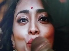 Pleasurable mouth cocking for South Indian Actress Shreya