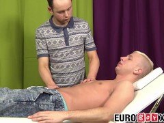 Horny blond Euro anally pounding his tight masseur|38::HD,63::Gay,1911::Blowjob,2071::Massage,2141::Twink,2151::Uncut