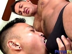 PETERFEVER Dominic Pacifico Fucks Asian Bottom In Jockstrap