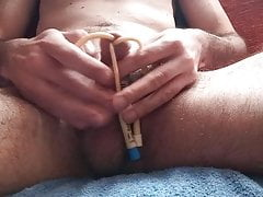 3 Catheters into one cock