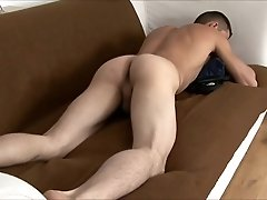 Jonah Plays With His Uncut Cock