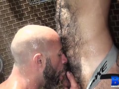 'Bald Hairy Top Raw Fucks Young Bottom'