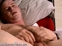 Jock amateur Keith cums hard after black man sucks his cock