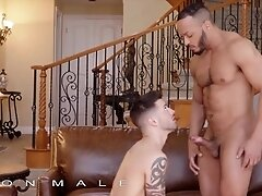'Icon Male - Dillon Diaz Keeps His Stepson Casey Everett Company While Watching Tv & Things Get Hot'
