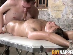 'Master and sub massage with Ashton Bradley and Ryan Hilton'
