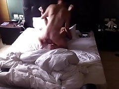 Raw fucking on the bed