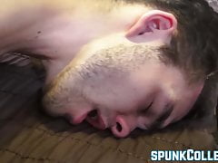 Young gay pervert gets to know his partner before anal fun