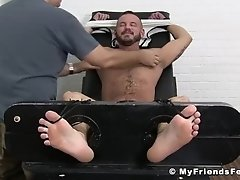 Inked Sean Harding restrained by mature tickler|38::HD,63::Gay,1921::Bondage,1991::Feet,2021::Hairy,2041::Hunks